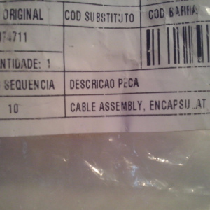 Cable assembly part number 183074711